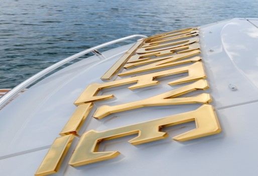 Specialist finishes for yachts